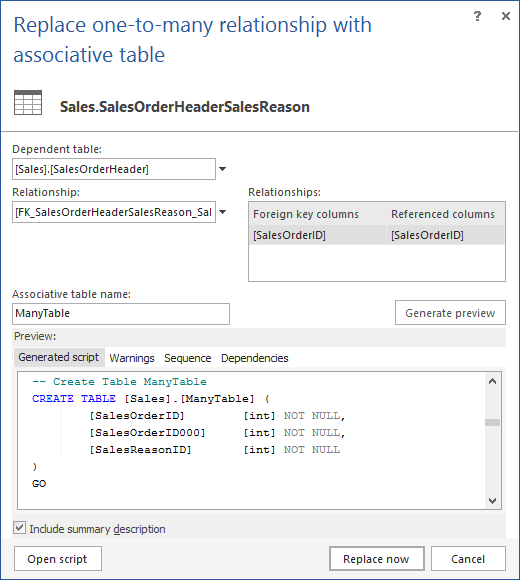 sql create table for many to relationship