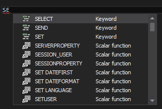 ApexSQL Complete feature highlight: Hint-list