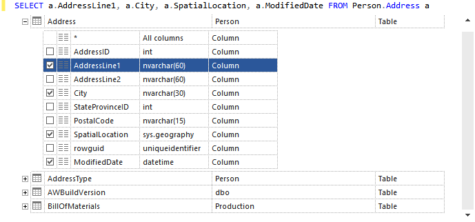 Multiple selections of hints in ApexSQL Complete