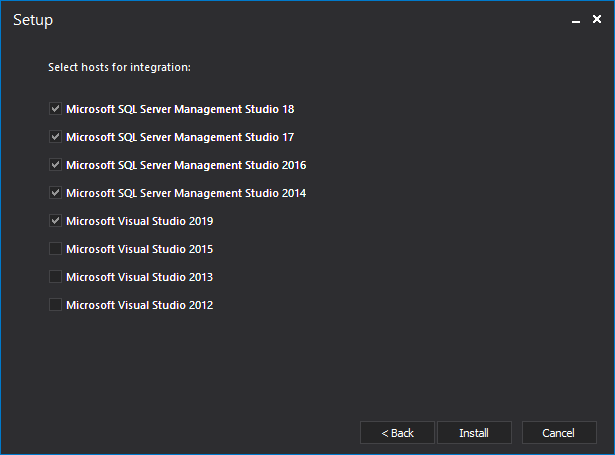 ApexSQL Doc can be integrated into SQL Server Management Studio and Visual Studio